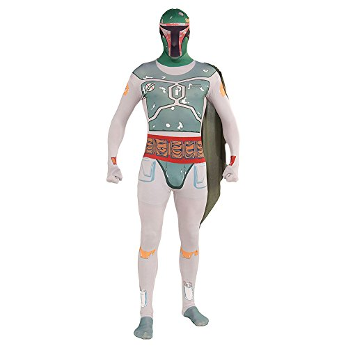 Rubies 2nd Skin Star Wars Boba Fett Kostüm - Medium (Star Fett Wars-halloween-kostüme-boba)