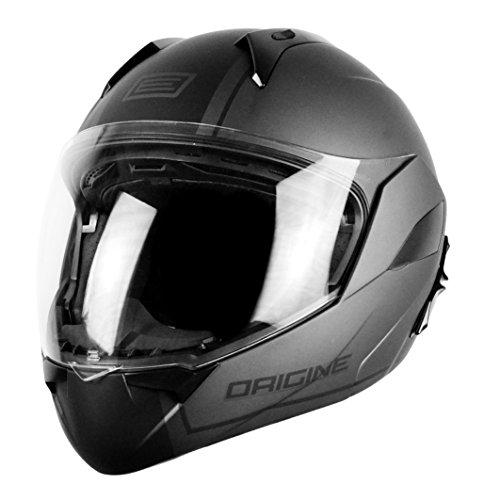 Preisvergleich Produktbild Helm Modular öffnen Convertible Gr. XS 53 – 54 cm Doppel Visier ULTRA Leicht Ursprungs Riviera Dandy silber matt zugelassen