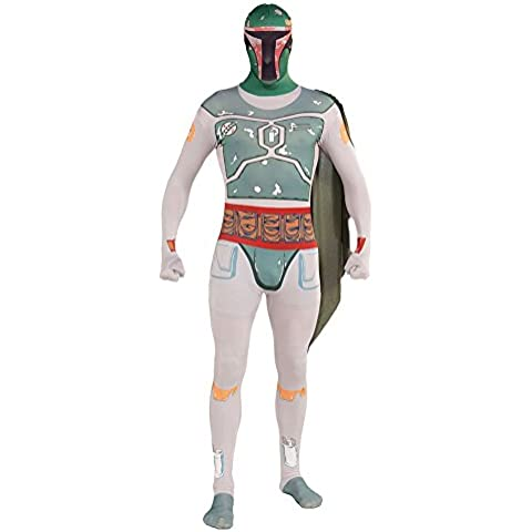 Costume Fancy Dress Boba Fett Star Wars Rubies 2nd Skin
