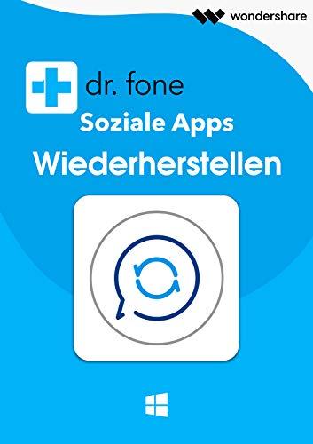 Dr.Fone -Soziale App Wiederherstellen (Product Keycard ohne Datenträger)-1 Jahr Lizenz