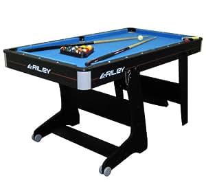 Riley 5 Foot Folding Pool Table (FP-5B+)