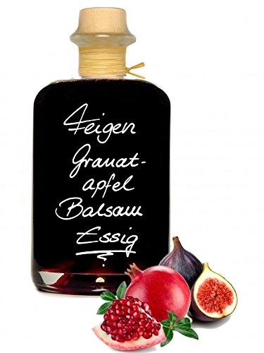 Feigen – Granatapfel Balsam Essig 1L 70 % Fruchtanteil 5% Säure