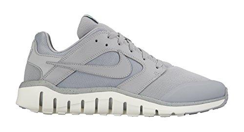 Nike Herren Flex Raid Laufschuhe Grau / Rot (Cool Grey/Cl Gry-Sl-Unvrsty Rd)