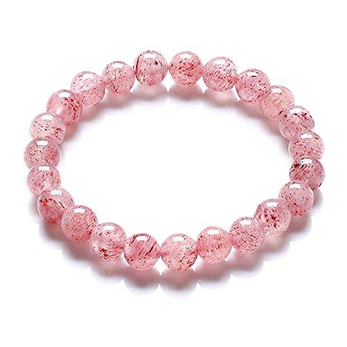 la meilleure fraise bracelet en cristal/Lumière rouge de débit de fumée Yunmeng naturel cristal bracelet/accessoires B
