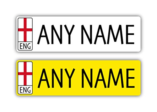 Epic Modz Kids Personalised Number Plates Front & Rear for sale  Delivered anywhere in UK