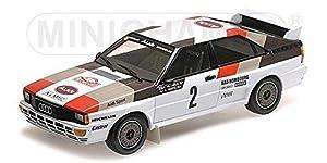 Minichamps 155831102 1:18 - Quattro A1-Mikkola/Hertz-Rallye Automobile De Monte Carlo 1983, Multi