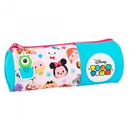 Disney Tsum Tsum - Trousse ronde - Enfant (Taille unique) (Multicolore)