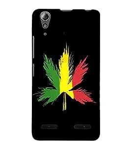HiFi Designer Phone Back Case Cover Lenovo A6000 Plus :: Lenovo A6000+ :: Lenovo A6000 ( Bob Marley Leaf Canada )