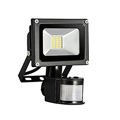 20W/30W/50W LED Outdoor Wall Lighting, Motion Sensor Lights, Security Light, 1400LM, 6000K, PIR Flood Light, Wall Washer Light, Waterproof, AC 85-265V, for Garden, Yard, Warehouse, Square, Billboard produced by Yuanline - quick delivery from UK.