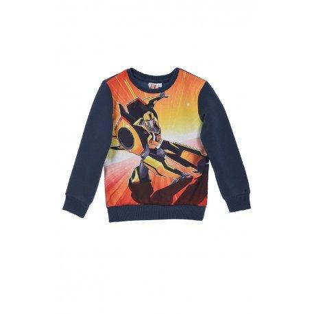 Transformers Jungen Sweatshirt 116 (6 Jahre) Marine