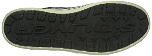 s.Oliver 13600 Herren Sneakers Schwarz (BLACK COMB. 98)