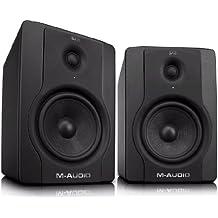 M-Audio BX8 D2 - Monitores activos profesionales de referencia para la producción musical, grabación y mezcla