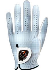 Easy Glove Classic_vichy-Blue-w Gant de Golf Femme