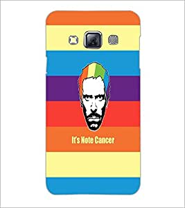 PrintDhaba Funny Image D-4040 Back Case Cover for SAMSUNG GALAXY A3 (Multi-Coloured)