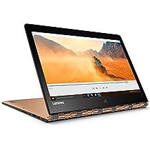 "Lenovo Yoga 900-13ISK2 - Portátil táctil convertible de 13.3"" QHD+ (Intel Core I7-6560U, RAM de 8 GB, SSD de 512, Intel Iris Graphics 540, Windows 10 Home) dorado - teclado QWERTY Español"