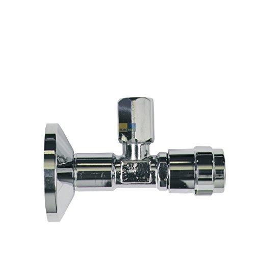 """Eckventil Eckregulier Ventil 1/2""""x10mm für 10mm Kupferrohr Grohe 41263000"""