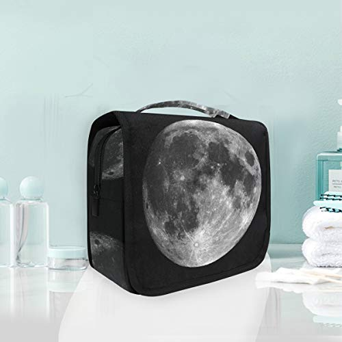 Makeup Cosmetic Bag Solar System Planet Moon Portable Storage Travel Toiletry Bag -