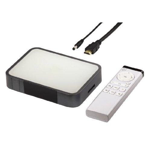 Hama Hama Internet-TV-Box (Samsung Cortex A8 1GHz, 1x HDMI, 3x USB 2.0, 1x SD/SDHC Kartenslot)