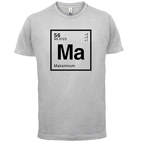 Maksim Periodensystem - Herren T-Shirt - 13 Farben Hellgrau