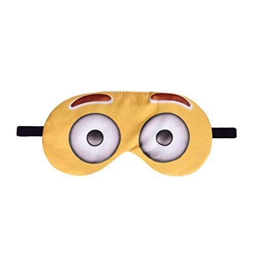 Schlafmaske Reise Relax Augen Abdeckung Bett Emoji Nickerchen Augenbinde Seine Emoji Big Eyes [042]