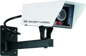 Elro - CS11D - Caméra de surveillance factice en métal avec LED clignotante