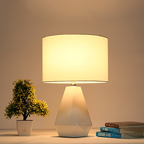 Estilo europeo Retro Lámparas de mesa,Dormitorio Lámpara mesita de ...