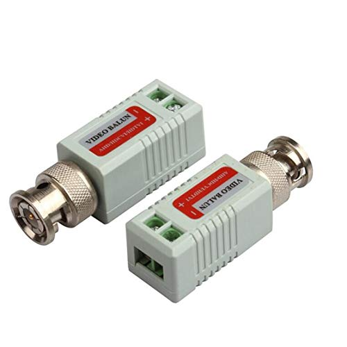 Common Anti-Interference Single 1 Channel Passive Video Transceiver BNC Connector Coaxial Adapter for Balun CCTV Camera DVR BNC UTP Utp-transceiver-hub