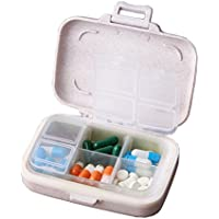 Pille-Kasten / Kasten-tragbarer Reisemedizin-Organisator für Medikation und Vitamin, großes Fach #46 preisvergleich bei billige-tabletten.eu