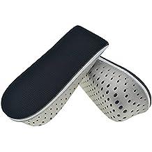 Asiv 1par altura aumento zapato plantillas Transpirable Invisible aumento zapato almohadillas plantillas