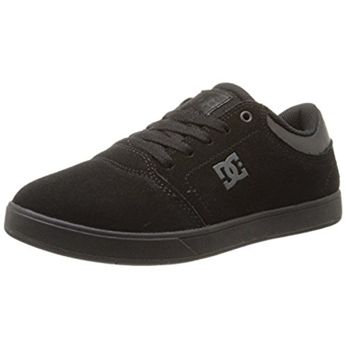 DC Crisis Skate Shoe (Little Kid/Big Kid), Black/Black/Black, 1.5 M US Little Kid