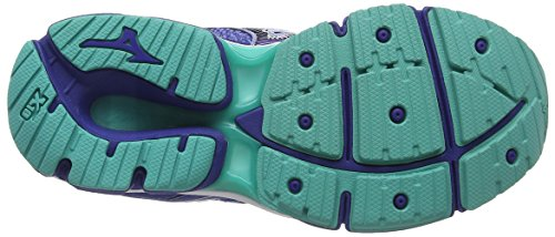 Mizuno Wave Enigma 6 (W), Scarpe da Corsa Donna Blu (Brunnera Blue/mazarine Blue/turquoise)