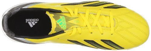 adidas F30 Trx Fg Lea, Chaussures de football homme Jaune (Black 1)