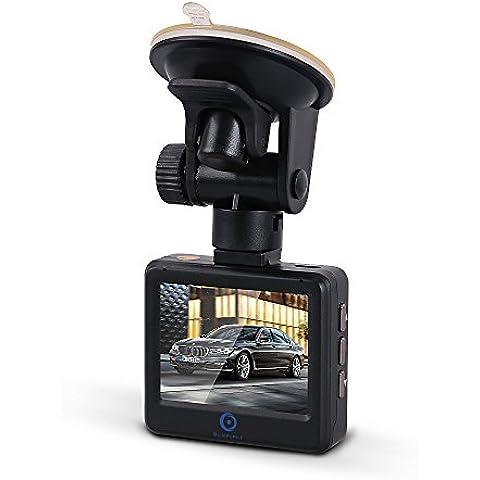 bluepupile auto DVR Dash Video Fotocamera 2.7pollici schermo FHD, 1920*