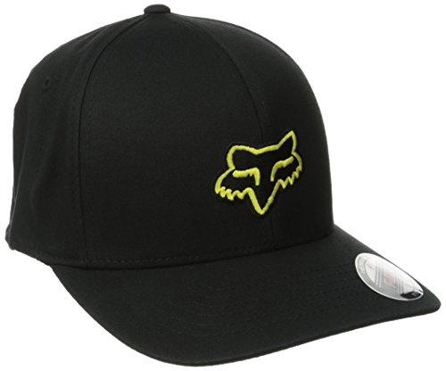 Fox Head Herren Legacy Baseball Cap, schwarz/gelb, Large