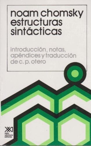 Estructuras sintácticas (Lingüística) por Noam Chomsky