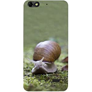 Casotec Snail Design Hard Back Case Cover for Huawei Honor 4C