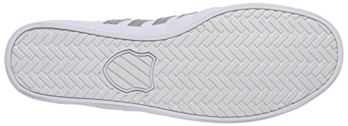 K-Swiss BELMONT SO T, Sneakers basses homme Blanc - Weiß (WHITE/NEUTRAL GRAY 192)