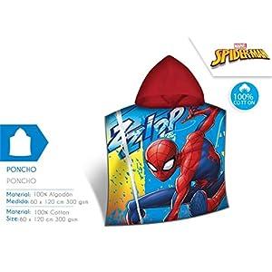 Disney Spiderman Poncho, mv15362, 120x 60cm