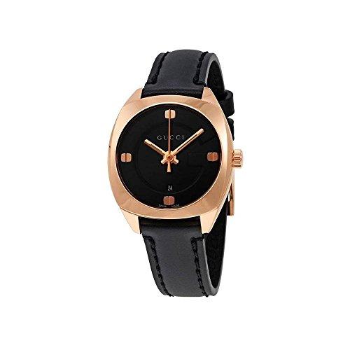 GUCCI orologio donna GG22570 placcata oro rosa pelle 29mm YA142509