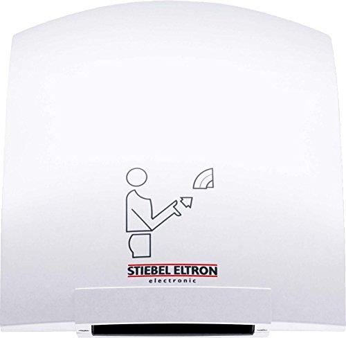 Stiebel Eltron 74464 Händetrockner turbotronic HTT 4 WS, 2.6 kW/220-240 V, IP 23, weiß