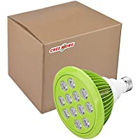 CHEE MONG LED Grow Light Bulb, High Efficient Hydroponic Plant Grow Lights for Garden Greenhouse and Hydroponic Aquatic and Growing indoor , Plants, Vegetables, Flowers(12W, 12 LEDs) (green)