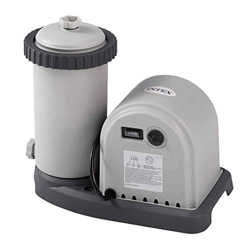 Intex Krystal Clear Cartridge Filter Pump - Pool Kartuschenfilteranlage - OPTIMO 636T - Filter Pumpe