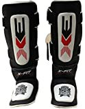 PROFESSIONAL CHOICE 3X Shin Instep Pads Kick Shield Muay Thai Kick Boxing MMA UFC Martial Arts Leg...