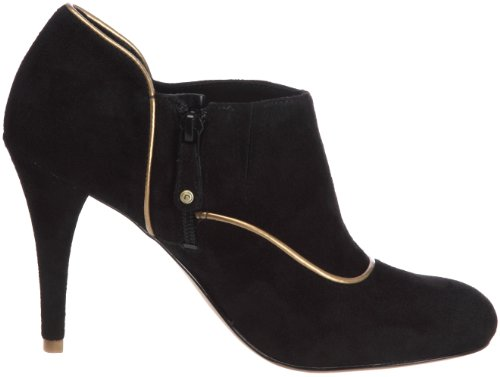Rockport Presia Zip Shootie, Boots femme Negro / Dorado