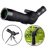 HUTACT Spektive vogelbeobachtung, 60 mm breites Objektiv, High-End-Optik Spektive für Sportschützen, 20-60-fache Verstärkung, Vögel und Landschaften deutlich sehen können