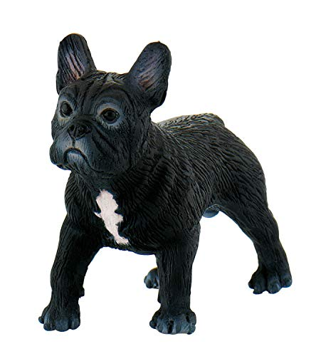 Bullyland 65452 - Figura de Animal World - French Bulldog Sammy