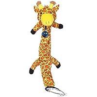 Estetoscopio Fundas para niños con diseño de jirafa (marrón/amarillo) de animales Amistosa–Fundas para estándar de estetoscopio accesorios cardiología apto para revestimiento de sthethoskop verkleidung abrigo funda contra miedo–Stethoscope Coating for Kids