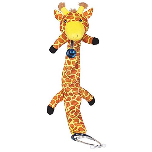 Stethoskop Bezüge für Kinder mit Motiv Giraffe Überzüge Zubehör Kardiologie Kinderfreundlich Arzt Überzug Verkleidung Mantel Bezug Kinderarzt Spielzeug gegen Angst Stethoscope coating for kids