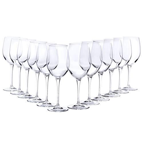 Bormioli Weingläser Set 12 teilig | Gastronomiequalität | Füllmenge Rotweinglas 60 cl |...