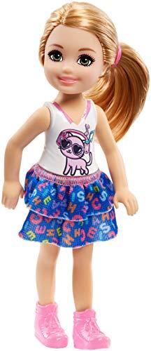 Barbie FRL82 - Chelsea Puppe mit Kätzchen